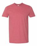 Heather Cardinal SoftStyle T-Shirt
