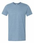 Heather Indigo SoftStyle T-Shirt
