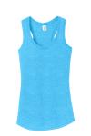 Turquoise Frst Ladies Perfect Tri Racerback Tank